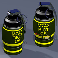 riot tear gas grenade 3ds