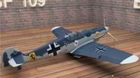 messerschmitt bf 109 g 3d obj
