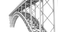 3d model bridge arch