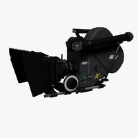 3d model 35mm movie camera arriflex