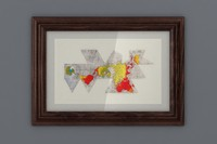 3d model dymaxion framed