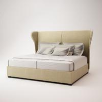 giorgetti bed 51521 3d max