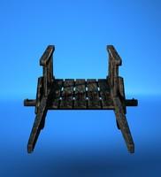 3d model handbarrow