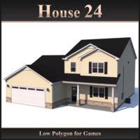 3d model house 24