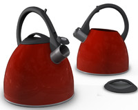 3d model stove-top kettle morphy