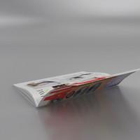 magazine rig 3d model