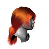 3d strand hair model
