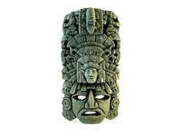 decorative mayan native mask 3ds