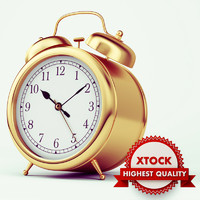 gold alarm clock max