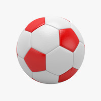 ball soccer soccerball 3d model