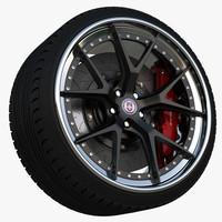 3d wheel hre s101 model