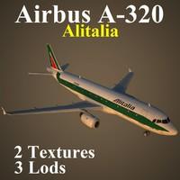 airbus aza 3d max
