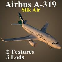 airbus slk 3d max