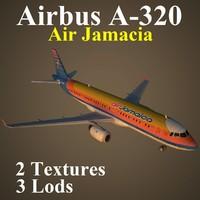 3d model airbus ajm
