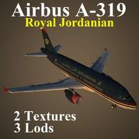 3d airbus rja model