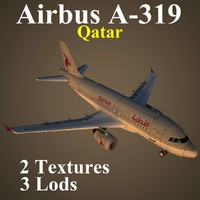 3ds max airbus qtr