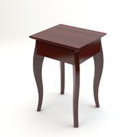 3d model malaysia side table