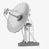 3d big dish antena