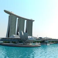 3d singapore marina