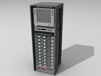 server tower 3d obj