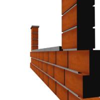 brick wall 3ds free