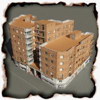 3d building 53 model