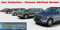 car users final render 3d c4d