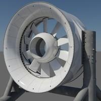 Marine turbine