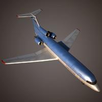 3d jet flaps model