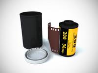 photo film 3d model