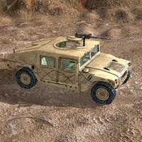 Humvee Woodland & Desert