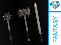 Fantasy Weapons - Pack