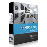 kitchen 3d c4d