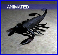 3d scorpion egyptian