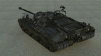 3d t28 t95 gmc tank