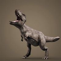 3ds max dinosaur t-rex