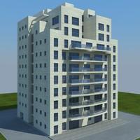 buildings 1 3d model