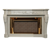 fireplace neoclassicism louis xvi 3d model