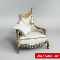 3d chair model