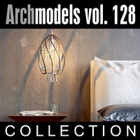 3d archmodels vol 128 lamps model