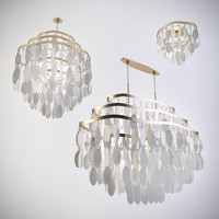 3d corbett lighting chandelier