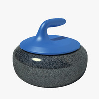 Curling Stone 01