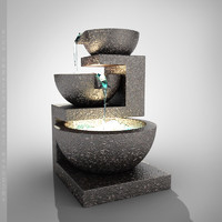 3d fountain