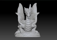 3d scan oil warmer dragon