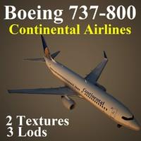 boeing 737-800 coa 3d max