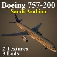 boeing 757-200 sva 3d model