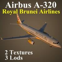 airbus rba 3d model