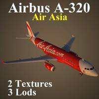 3d model airbus axm