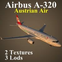 3d max airbus aua