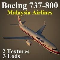 boeing 737-800 mas 3d max